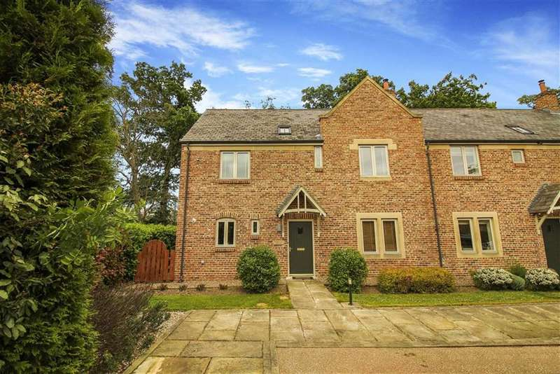 4 Bedrooms Terraced House for sale in Farmstead Court, Hartford Hall, Northumberland