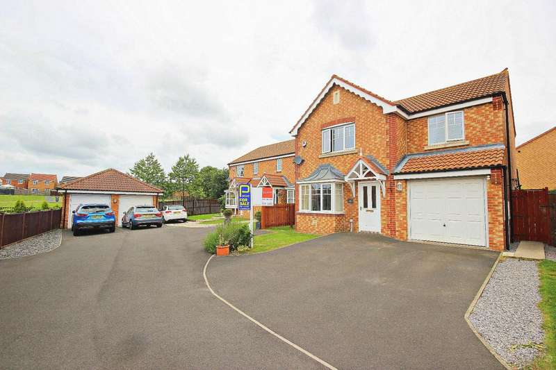 4 Bedrooms Detached House for sale in Cottingham Grove, Thornley, Durham