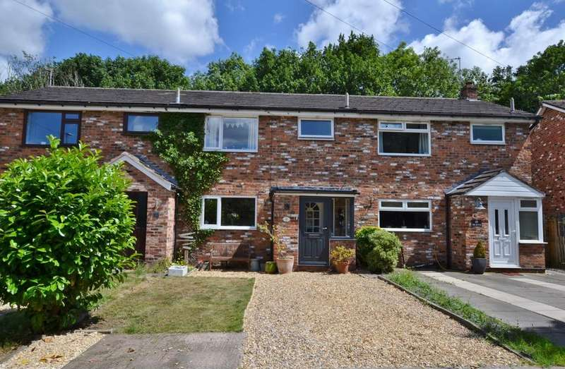 3 Bedrooms Terraced House for sale in Crofters Court, Holmes Chapel