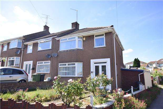 3 Bedrooms End Of Terrace House for sale in Yew Tree Drive, Kingswood, BRISTOL, BS15 4UD