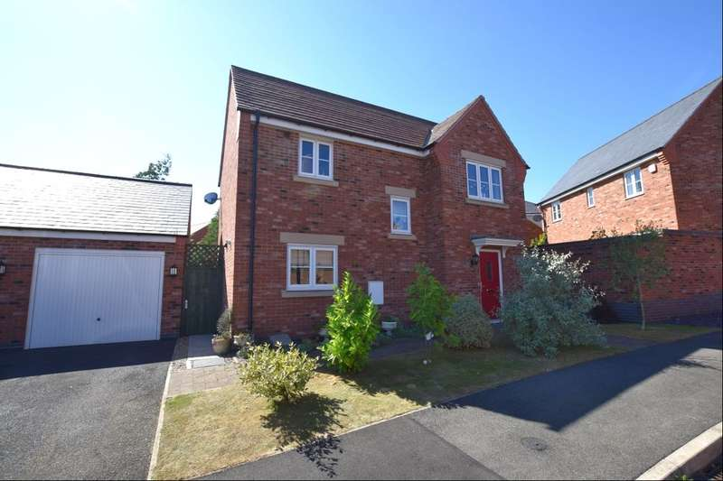 3 Bedrooms Detached House for sale in Connery Leys Road, Birstall, Leicester, LE4