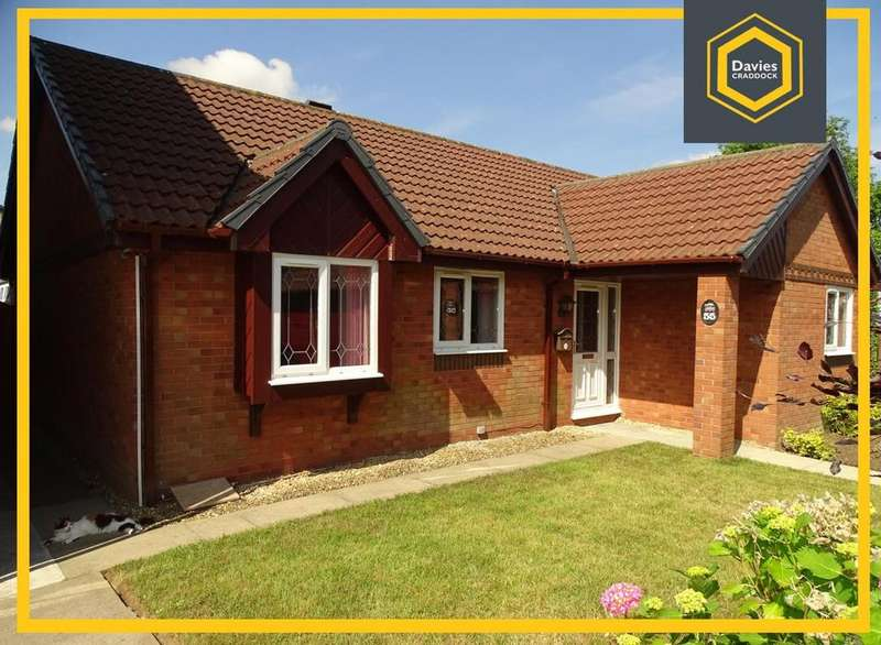 3 Bedrooms Detached Bungalow for sale in Nightingale Court, Llanelli, SA15