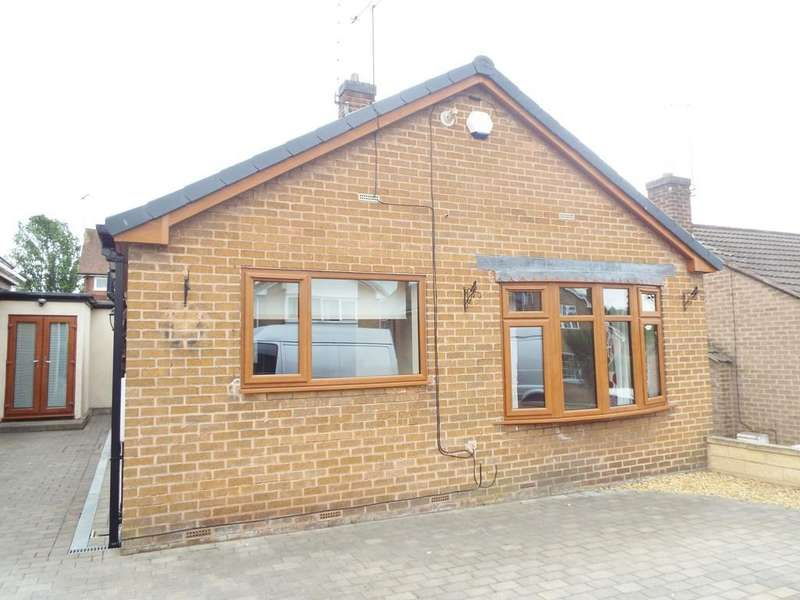 2 Bedrooms Detached Bungalow for sale in Farmfields Close, Bolsover