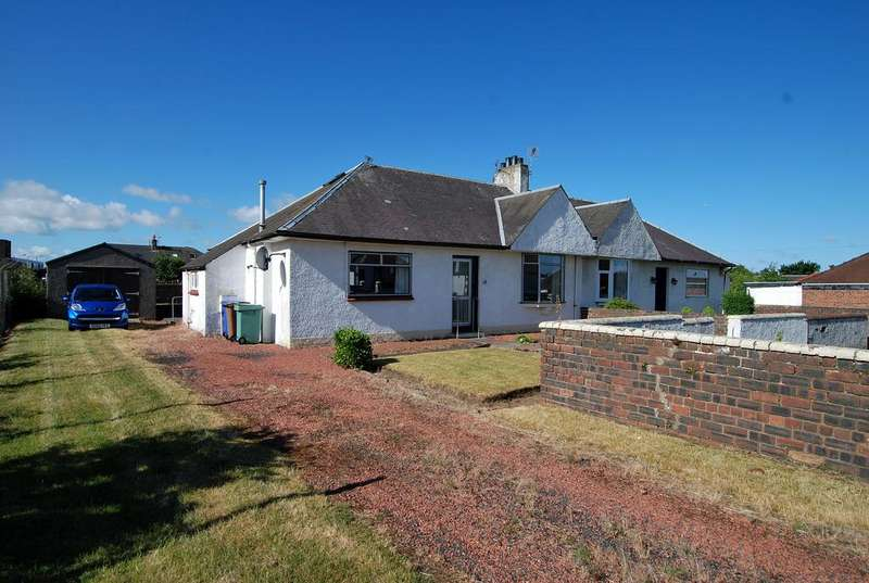 3 Bedrooms Semi Detached Bungalow for sale in 12 Rosslyn Place, AYR, KA8 9HU