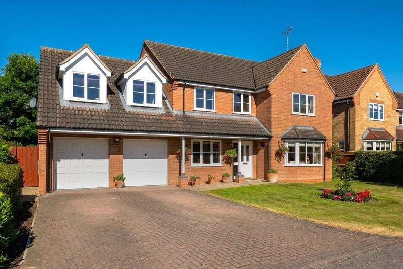 5 Bedrooms Detached House for sale in Measures Close, Morton, Bourne, PE10
