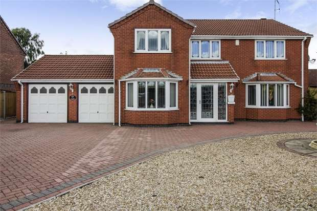 5 Bedrooms Detached House for sale in Diamond Avenue, Kirkby-in-Ashfield, Nottingham