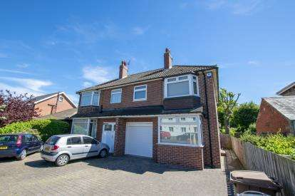 3 Bedrooms Semi Detached House for sale in Station Road, Benton, Newcastle Upon Tyne, Tyne and Wear, NE12