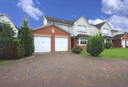4 Bedrooms Detached House for sale in Cherryridge Drive, Drumpellier Lawns, Bargeddie