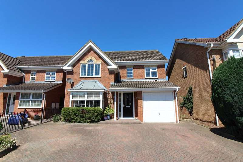 4 Bedrooms Detached House for sale in Tippett Drive, Shefford, SG17
