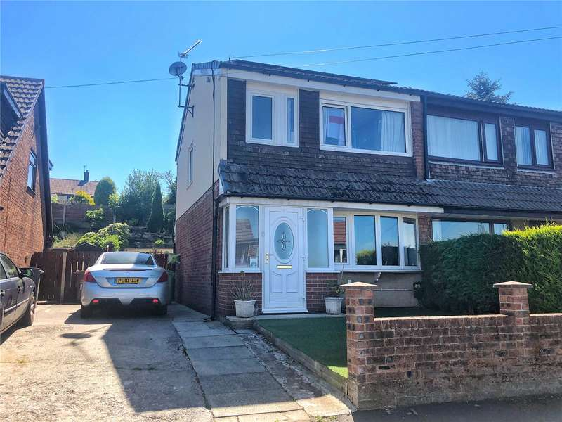 2 Bedrooms Semi Detached House for sale in Rossendale Close, Shaw, Oldham, Greater Manchester, OL2