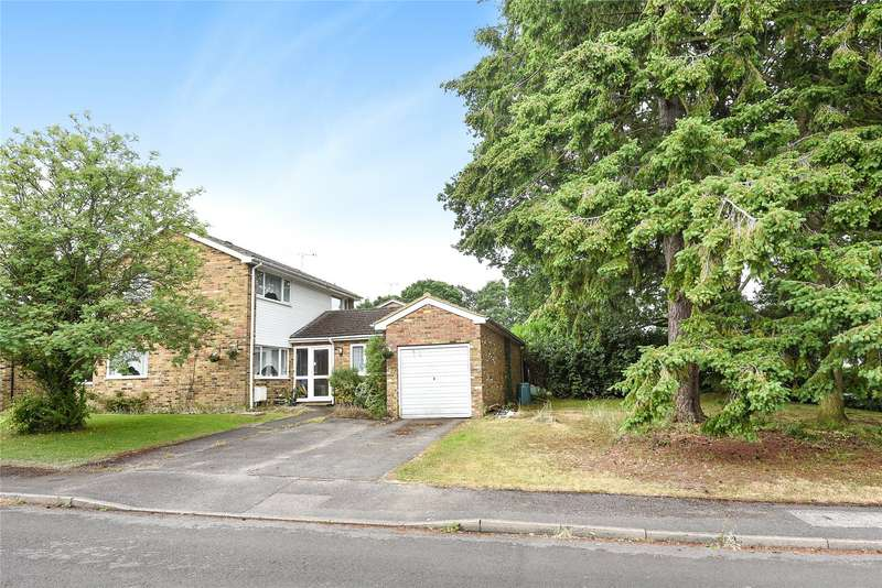 4 Bedrooms Semi Detached House for sale in Burnt Oak, Finchampstead, Wokingham, Berkshire, RG40