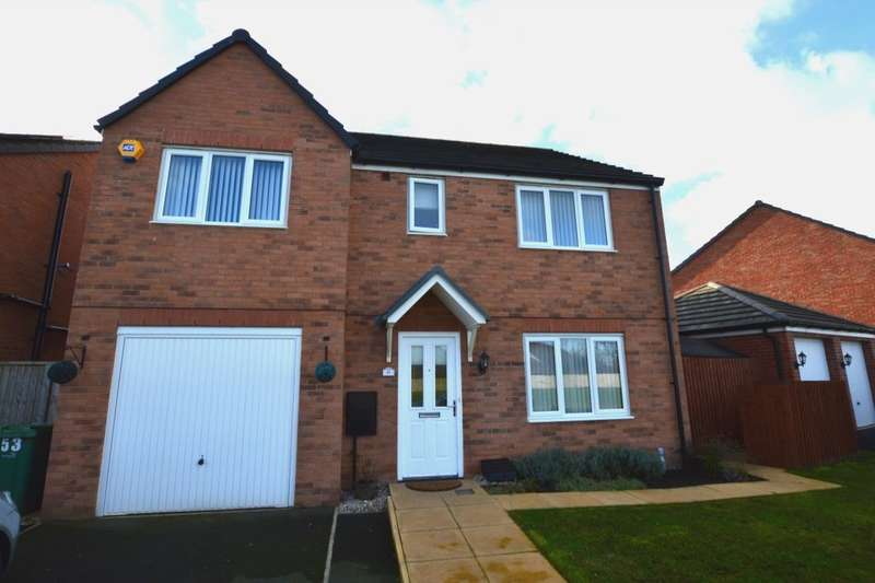 5 Bedrooms Detached House for sale in Jubilee Pastures, Middlewich, CW10