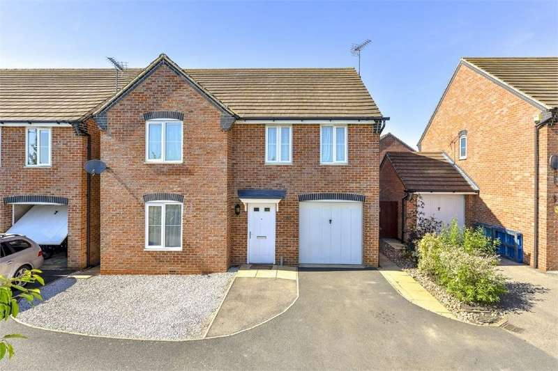 4 Bedrooms Detached House for sale in Butland Road, Oakley Vale, Northamptonshire