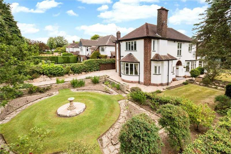 4 Bedrooms Detached House for sale in Edgeway, Wilmslow, Cheshire, SK9