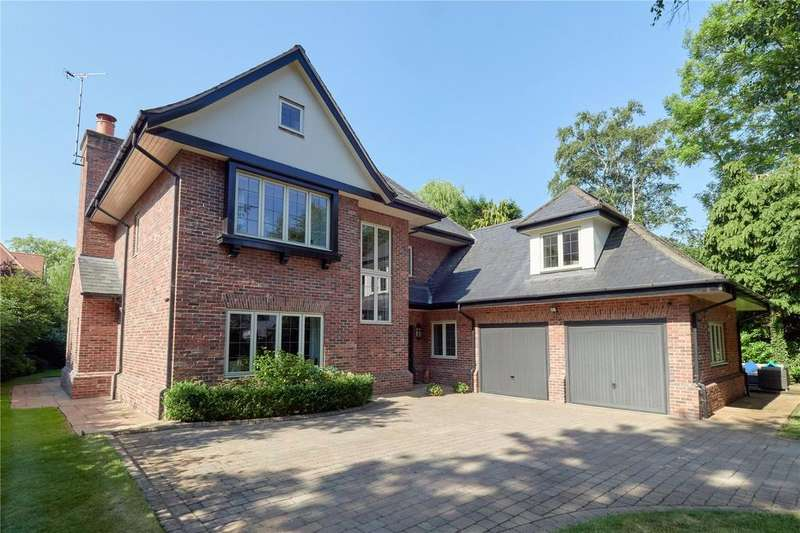 5 Bedrooms Detached House for sale in Torkington Road, Wilmslow, Cheshire, SK9