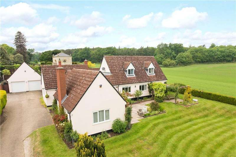 5 Bedrooms Detached House for sale in Church Lane, Old Warden, Bedfordshire