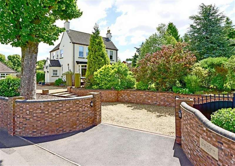 4 Bedrooms Detached House for sale in The Croft, 147, Sandyfields Road, Sedgley, Dudley, West Midlands, DY3