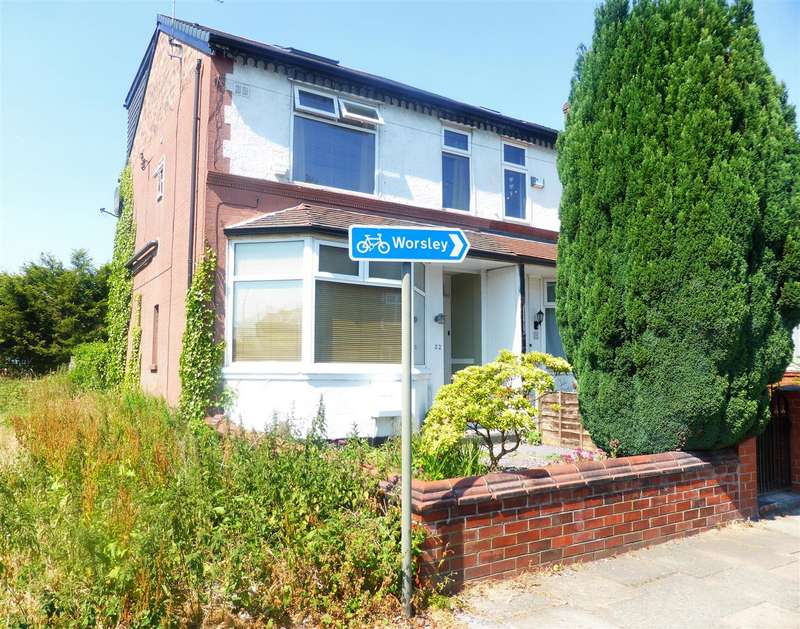 4 Bedrooms Semi Detached House for sale in Campbell Road, Swinton, Manchester