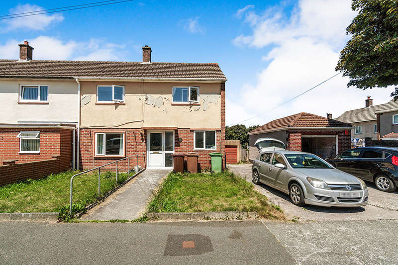 2 Bedrooms Semi Detached House for sale in Alderney Road, Plymouth, PL6