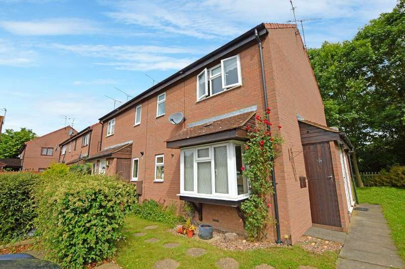 1 Bedroom Cluster House for sale in Copperfields, Luton, Bedfordshire, LU4 0JY