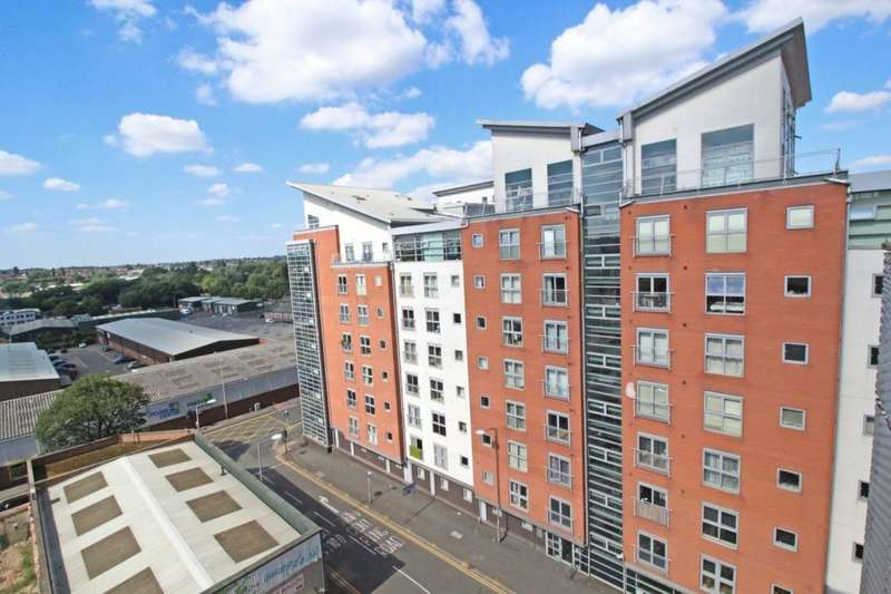 2 Bedrooms Flat for sale in Burgess Street, Leicester, LE1