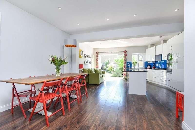 4 Bedrooms Terraced House for sale in West Barnes Lane, New Malden