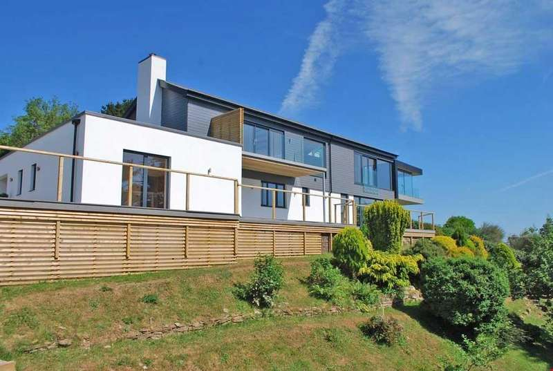 4 Bedrooms Detached House for sale in Pill Creek, Feock, Nr. Truro, South Cornwall, TR3