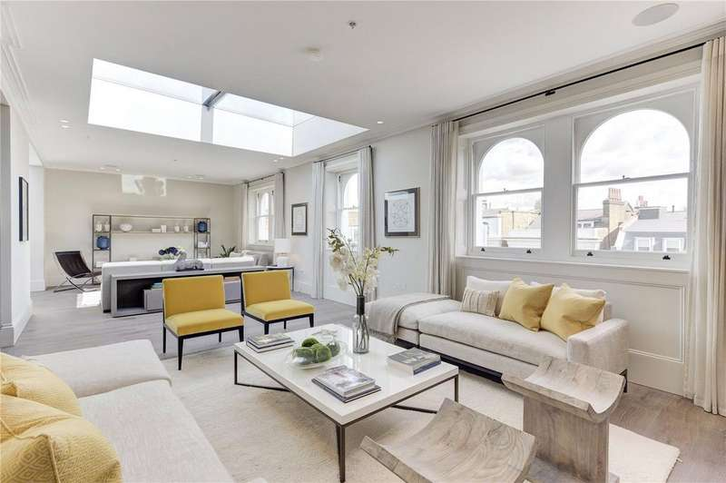 3 Bedrooms Penthouse Flat for sale in Pembridge Crescent, Notting Hill, London, W11