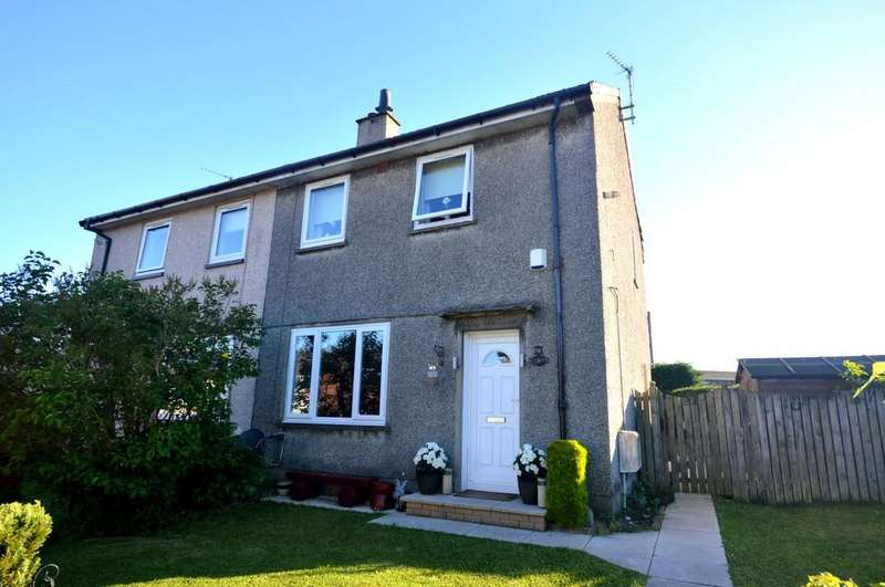 2 Bedrooms Semi Detached House for sale in Quarryknowe Street, Faifley G81 5HE