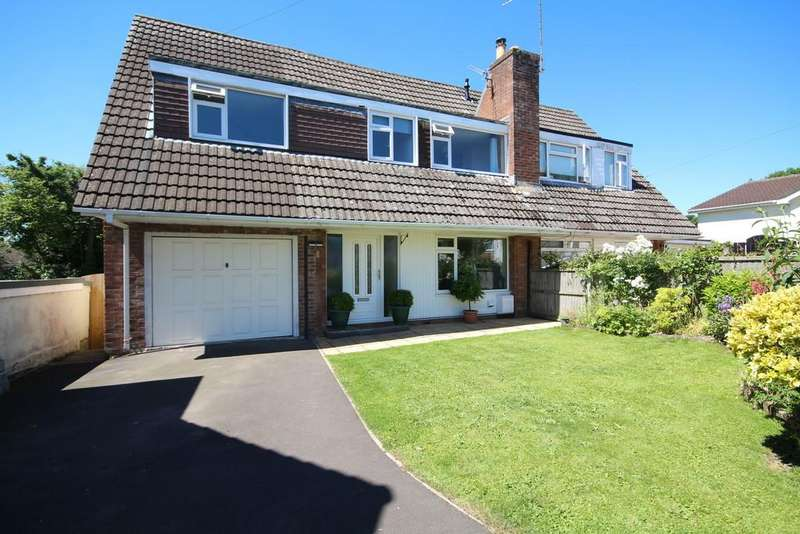 4 Bedrooms Semi Detached House for sale in Valley View, Clutton, Bristol