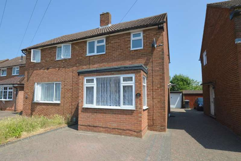 2 Bedrooms Semi Detached House for sale in Chesford Road, Putteridge, Luton, LU2 8DT