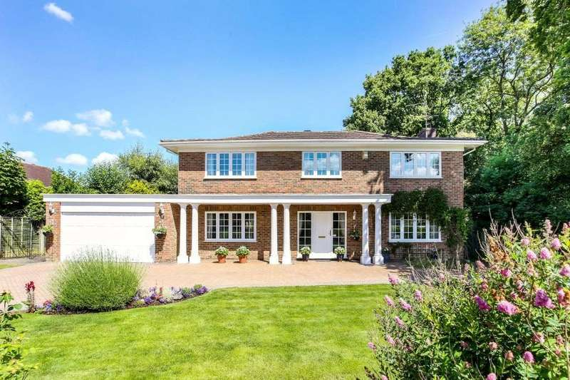 5 Bedrooms Detached House for sale in St Leonards Avenue, Chineham, Basingstoke, Hampshire, RG24