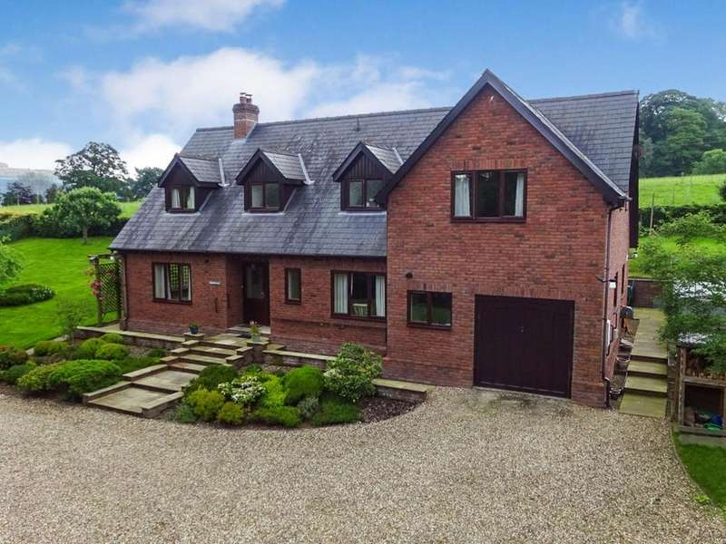 4 Bedrooms Detached House for sale in Farrington Lane, Knighton, Powys