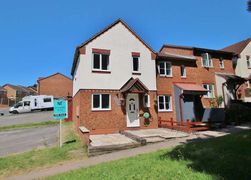 3 Bedrooms End Of Terrace House for sale in Caesars Close, Lydney, GL15