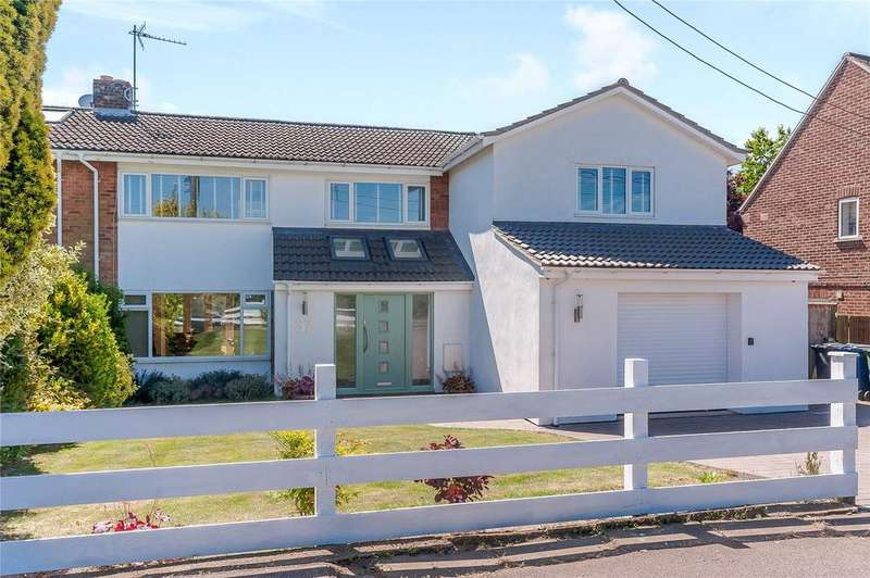 5 Bedrooms Semi Detached House for sale in Whitwell Way, Coton, Cambridge