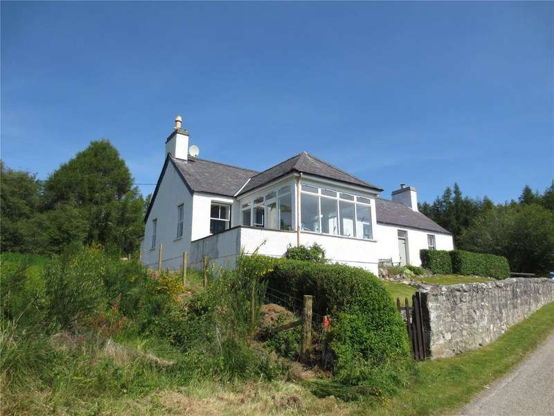 4 Bedrooms House for sale in The Old Schoolhouse, Linsidemore, Lairg, Highland, IV27