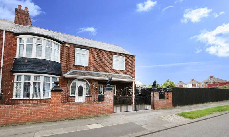 5 Bedrooms Semi Detached House for sale in Hutton Road, Longlands, Middlesbrough TS4