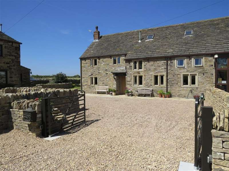 5 Bedrooms Barn Conversion Character Property for sale in Thornes Fold, Lepton, Huddersfield, HD8