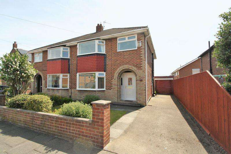 3 Bedrooms Semi Detached House for sale in South Way, Norton, Stockton, TS20 2TQ