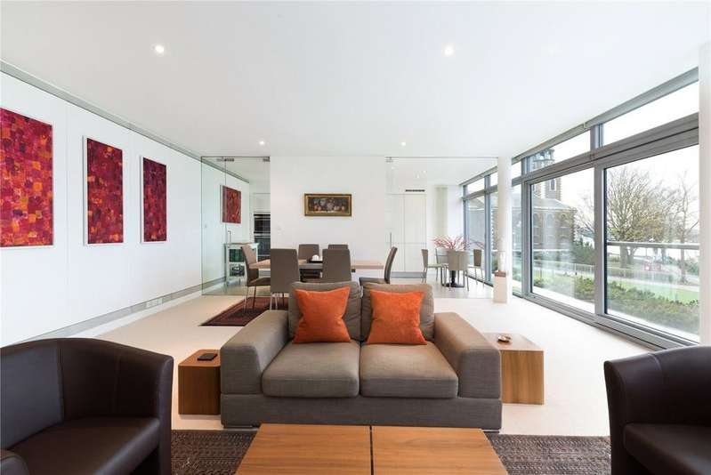 3 Bedrooms Flat for sale in Montevetro, 100 Battersea Church Rd, Battersea, London, SW11