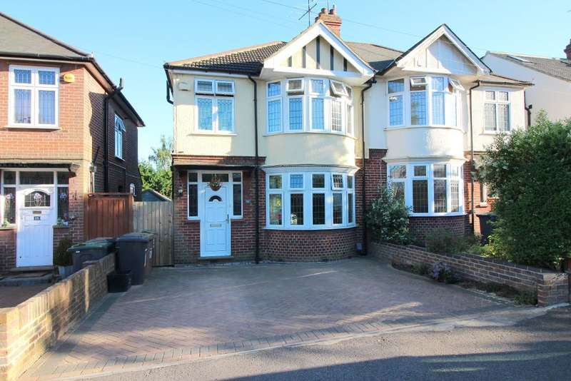 3 Bedrooms Semi Detached House for sale in Cranleigh Gardens, Luton, Bedfordshire, LU3 1LS