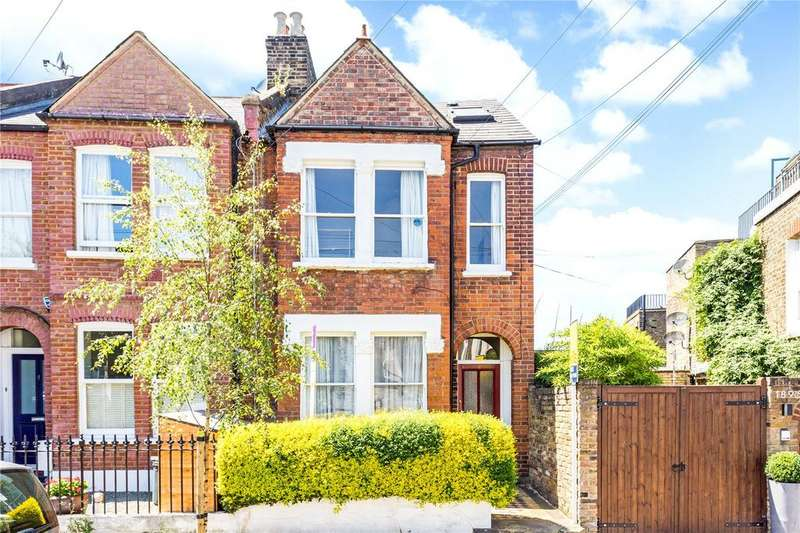 4 Bedrooms End Of Terrace House for sale in Brandlehow Road, Putney, London, SW15