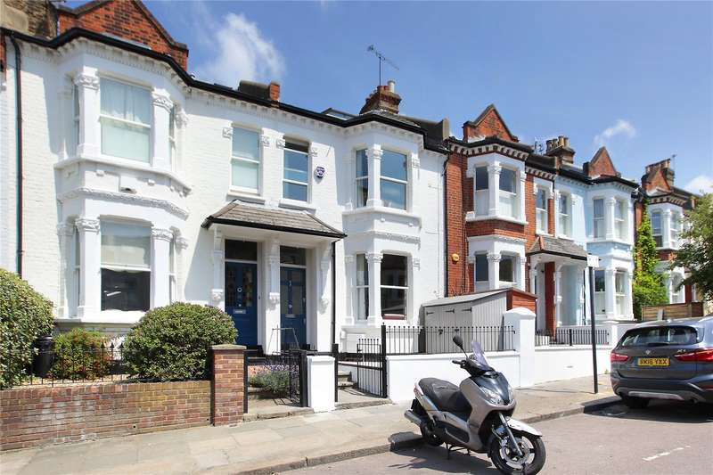 4 Bedrooms Terraced House for sale in Bassingham Road, Earlsfield, London, SW18