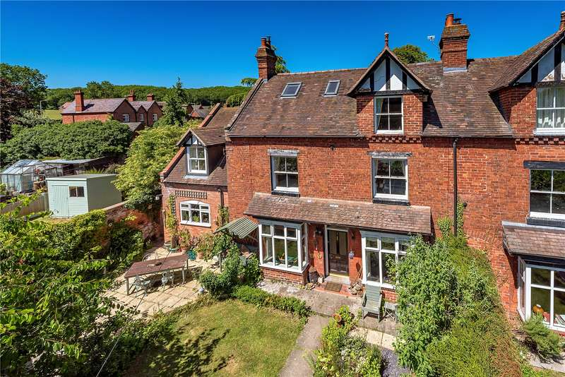 5 Bedrooms Semi Detached House for sale in 2 Wheatland Grove, Station Road, Much Wenlock, Shropshire, TF13