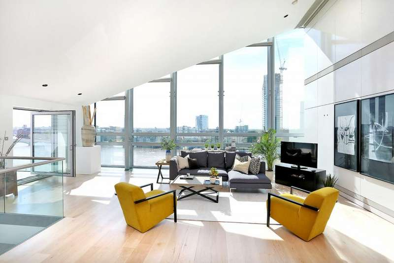 3 Bedrooms Penthouse Flat for sale in Montevetro, 100 Battersea Church Road, Battersea, SW11
