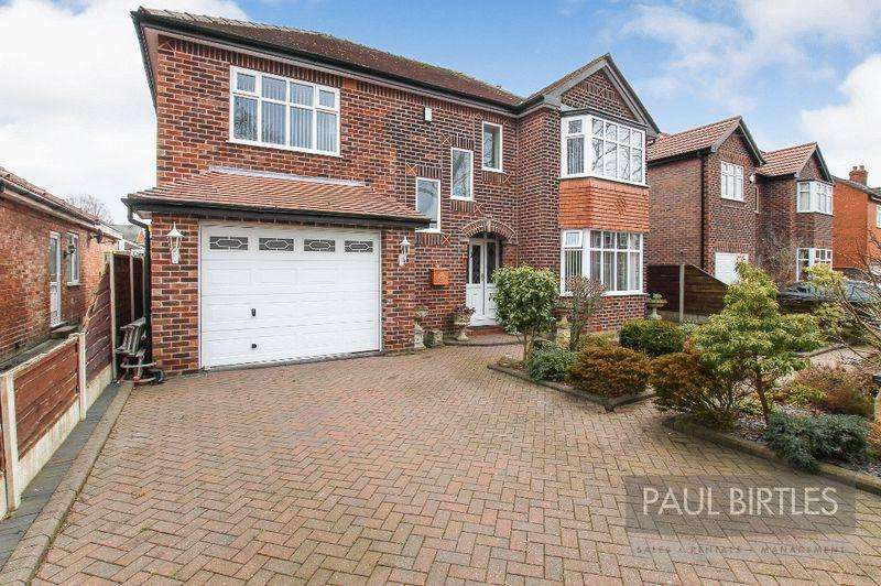 5 Bedrooms Detached House for sale in Entwisle Avenue, Manchester