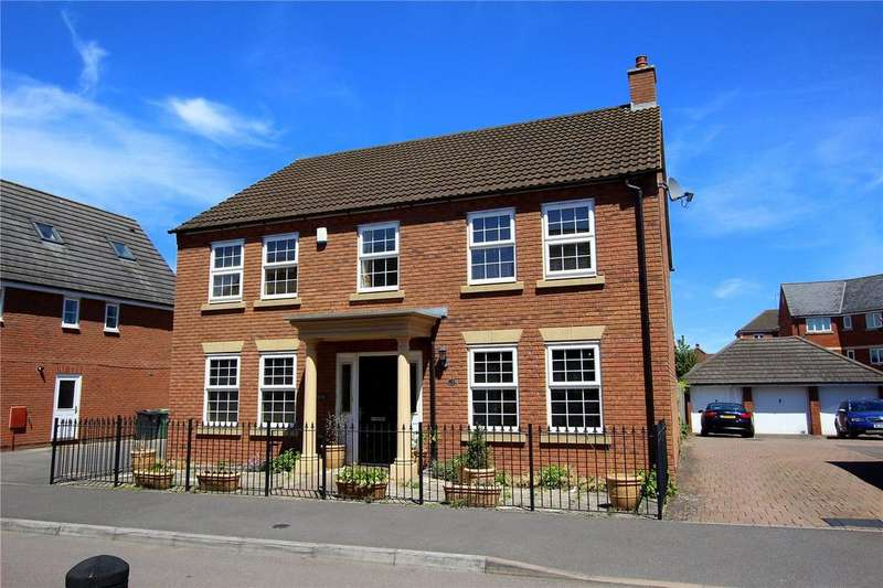 4 Bedrooms Detached House for sale in Halton Way Kingsway, Quedgeley, Gloucester, GL2