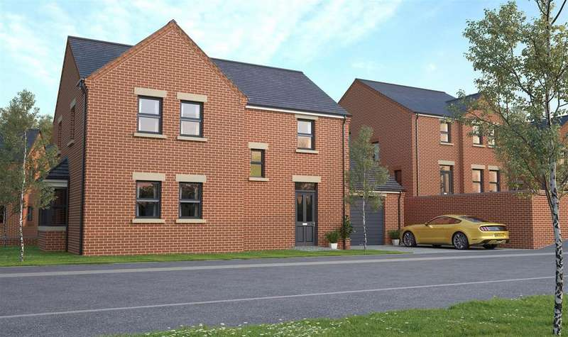 4 Bedrooms Detached House for sale in Orchid Rise, Pleasley