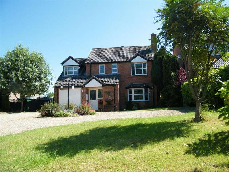 4 Bedrooms Detached House for sale in The Drift, Harlaxton, Grantham