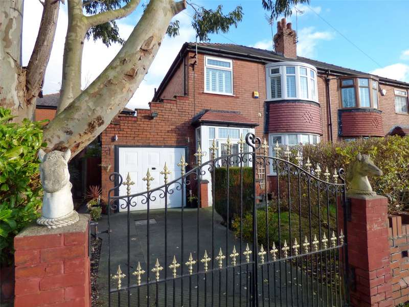 3 Bedrooms Semi Detached House for sale in Kershaw Road, Failsworth, Manchester, M35